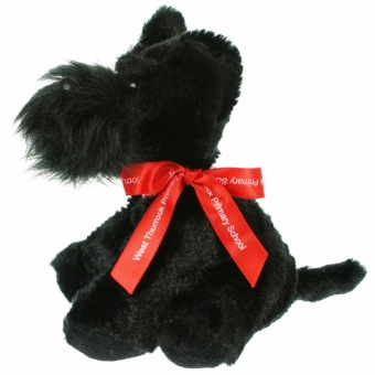 15cm Scotty Dog Bow
